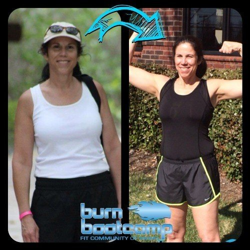 Kathy Bauer Burn Bootcamp Huntersville Weight Loss Story