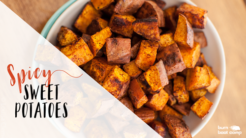 Spicy Sweet Potatoes